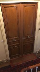 Photo de galerie - Pose de porte blindée tordjman simple ou double tout en gardant l'aspect copro