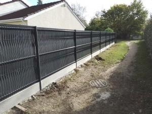 Photo de galerie - Rénovation d'une clôture