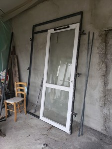 Photo de galerie - Fabrication de porte métallique