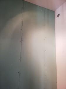 Photo de galerie - Pose plaque de platre