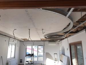 Photo de galerie - Décoration en placo plafond