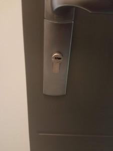 Photo de galerie - Ouverture cylindre européen renforcé